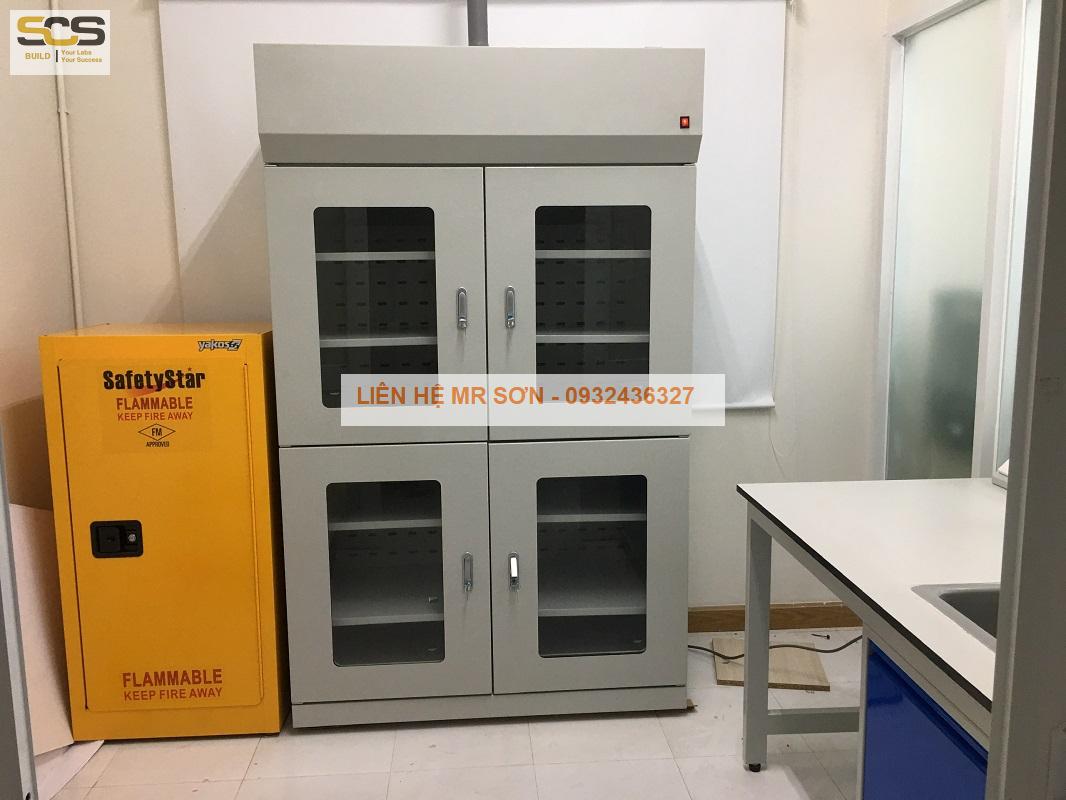 Tủ đựng hóa chất phòng thí nghiệm